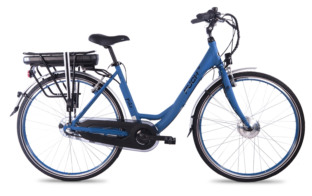Puch E-Folk Technical Blue