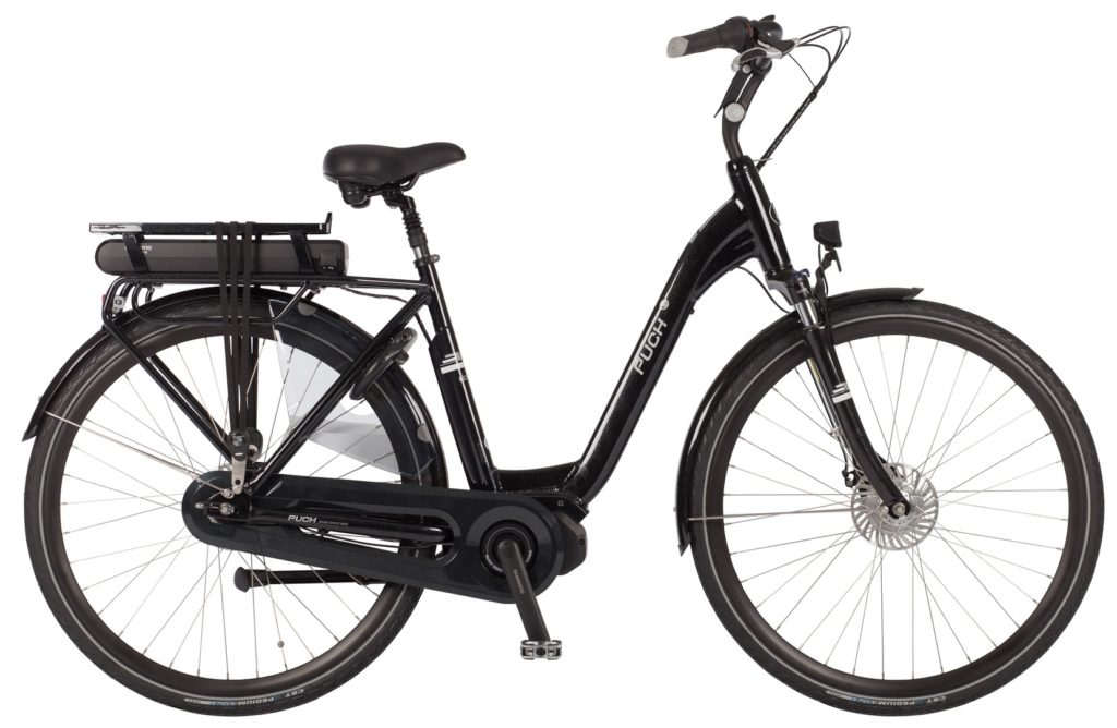 Puch E-Lounge Crystal Black Gloss