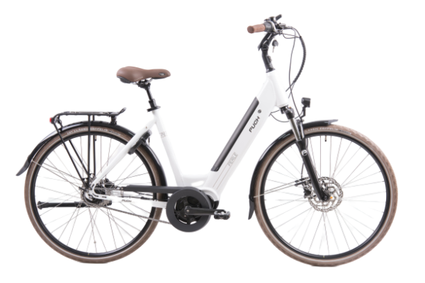 Puch Perle Maxi White Glossy