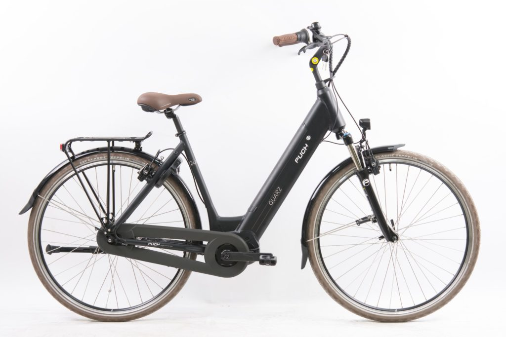 Puch Quartz Maxi Black Matt